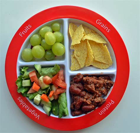 guide to toddler portion sizes healthy ideas for 348 | myplate dinner chili
