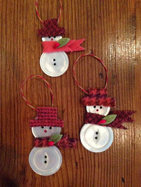 knitionary button snowmen  tutorial manualidades