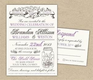 Free templates for invitations free printable vintage for Wedding invitation printing software free