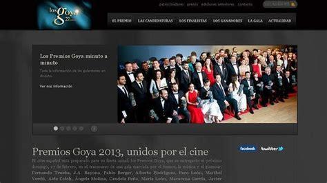 Anonymous ataca la web de los Goya y publica datos de sus