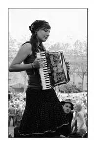 Girls Playing Accordions