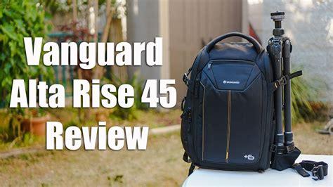 lensvid exclusive vanguard alta rise  camera bag review