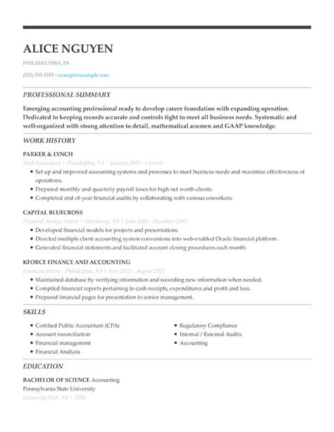 Alternate Resume Formats by 3 Resume Formats For 2019 5 Minute Guide
