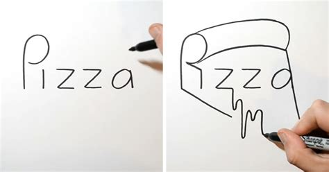 artist turns words  drawings gift ideas creative