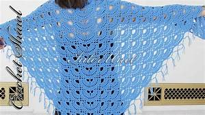 15 Lovely Crocheted Shawl Patterns