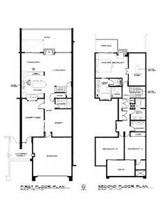 two story condo floor plans floor plan of two story townhouse in los gatos 2008