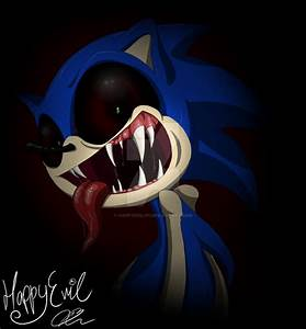 Demon Sonic by HappyEvil101 on DeviantArt