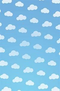 雲 模様の壁紙