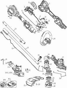 Black And Decker Grass Hog Parts Diagram