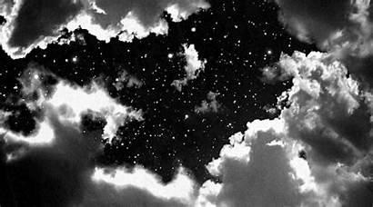 Sky Stars Clouds Aesthetic Night Space Titan