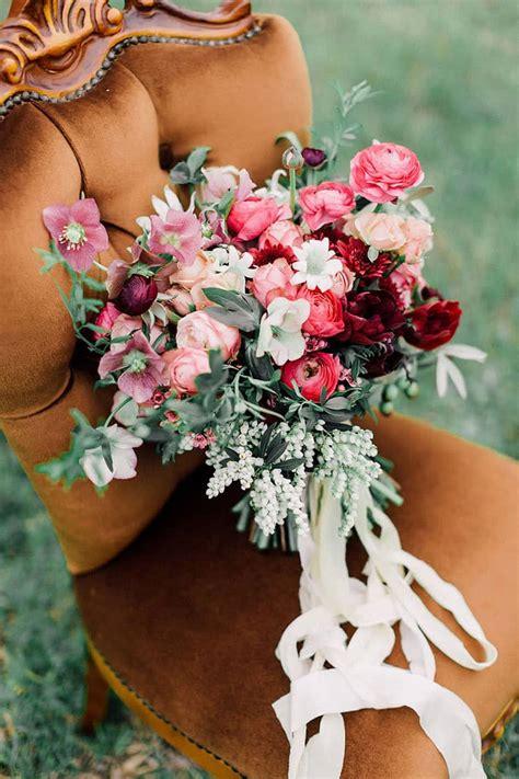 romantic bohemian wedding inspiration