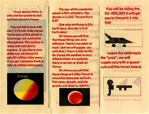 Postcards - Brochures from Space