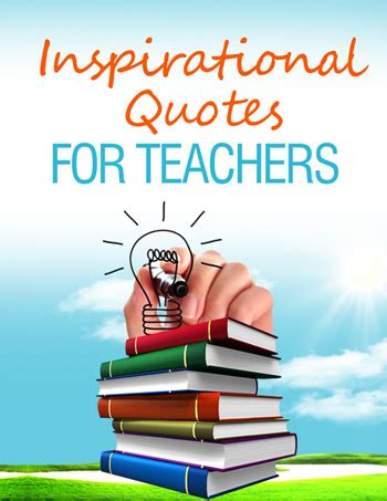 Inspirational Quotes for School Teachers