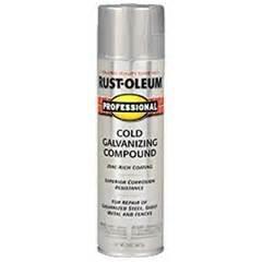 rust oleum professional cold galvanizing compound spray