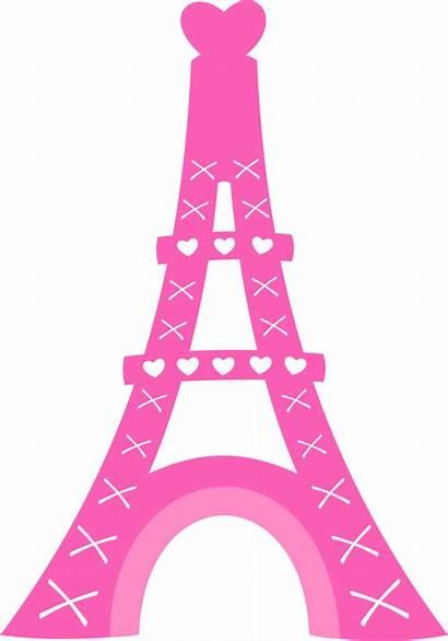Eiffel Paris Torre Clipart Dibujo Silueta France