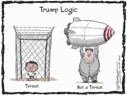 Trump Logic Insane Cartoons Anderson Nick Pick