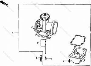 Honda Atv 1986 Oem Parts Diagram For Carburetor    Optional