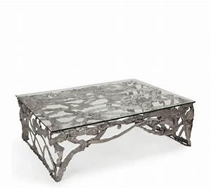 Couchtisch Silber Glas : couchtisch aus metall mit glassplatte bei trend4rooms ~ Whattoseeinmadrid.com Haus und Dekorationen