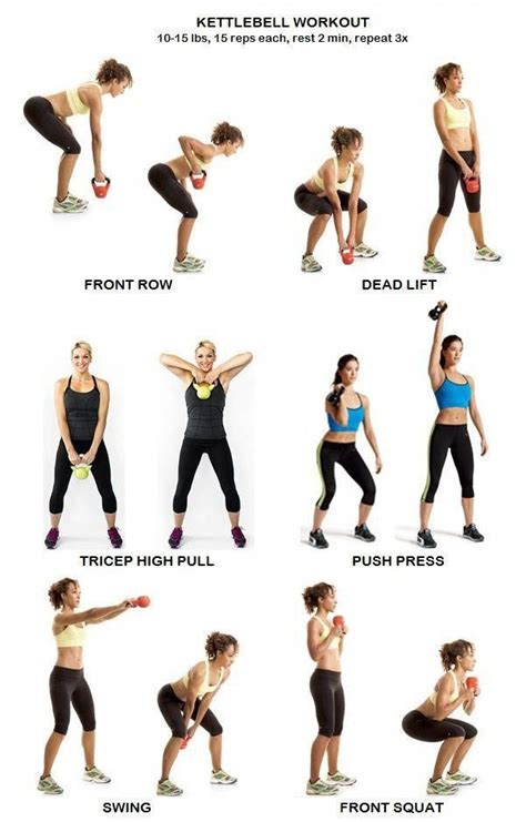 kettlebell workout workouts exercise moves fitness transformation health body routines arm upper core crossfit work cardio training beginner these worked