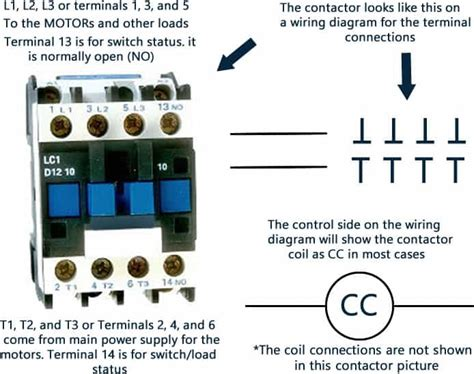 Contactor And Wiring Diagram by Compressor Contactors For Air Conditioners And Heat Pumps