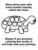 Parking Turtle Coloring Note Lines Anonymous Printable Line Ticket Drivers Bad Within Version Staying Many Three Olds Asshole Fights Hero sketch template