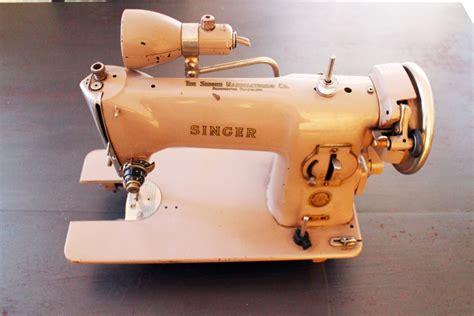 comment relooker une cuisine machine à coudre singer vintage de 1957 modèle 191b luckyfind