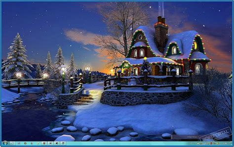 white christmas  screensaver   screensaversbiz