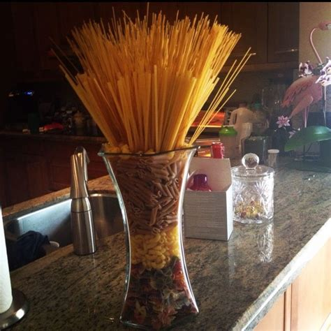 Glass Candle Holders Noodles Italian Themed Dinner by Pasta Buffet Ideas Filling Pasta In Vases As Decor For