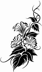 Floral Tribal Vine Tattoo Design by JSHarts on DeviantArt