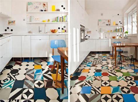 carrelage sol pour cuisine carrelage cuisine murs et sol quels designs et couleurs