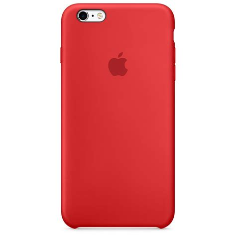 apple iphone silicone case red quzo
