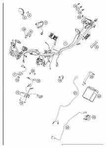 Ktm Road 125cc 2013 Wiring Harness Supplied Next Day  Uk