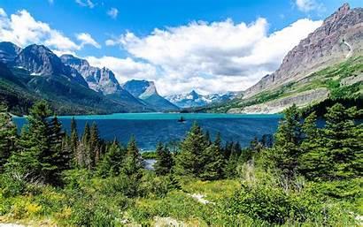 Alpine Scenery Lake Nature