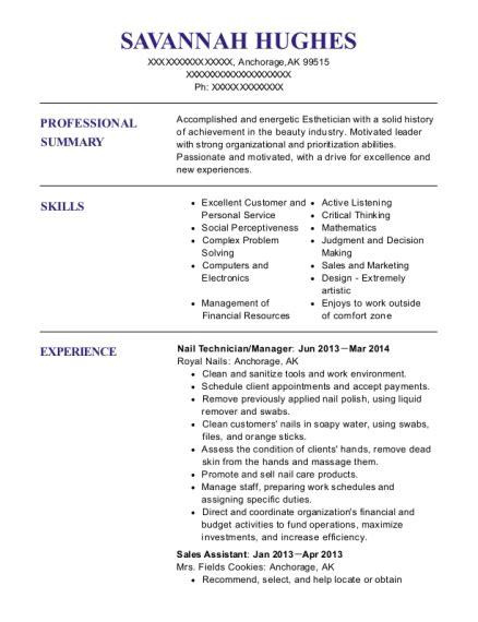 maistylesalon lash technician resume sample resumehelp