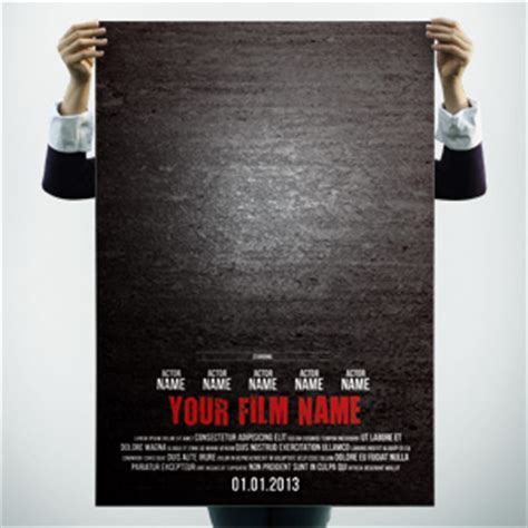 posters  promote  film