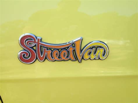 dodge van street van classic cruiservintage