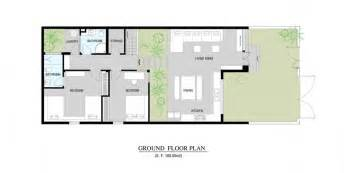 Garden Home Floor Plans Photo by House Garden Kitchen Dining And