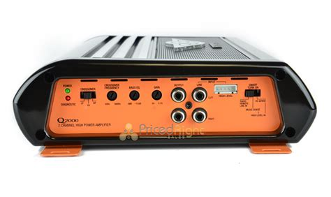 Car Amplifier Cadence Q2000 Amp 2 Channel 540w Max Class A