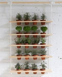 Mur Végétal Intérieur Ikea : l 39 tag re balan oire une tag re suspendue pratique et ~ Dailycaller-alerts.com Idées de Décoration