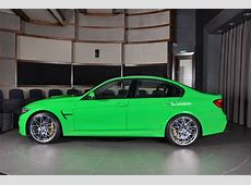 Verde Mantis BMW M3 Is One Stand Out Bimmer