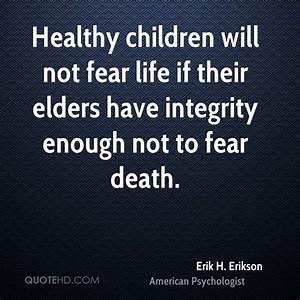 Erik H. Erikson Death Quotes | QuoteHD