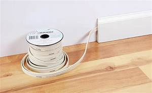 Running Speaker Wire Along Baseboard