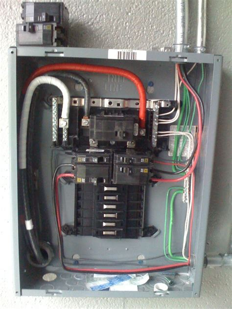Electrical Panel Box Wiring Diagram by Get Square D Homeline 100 Panel Wiring Diagram