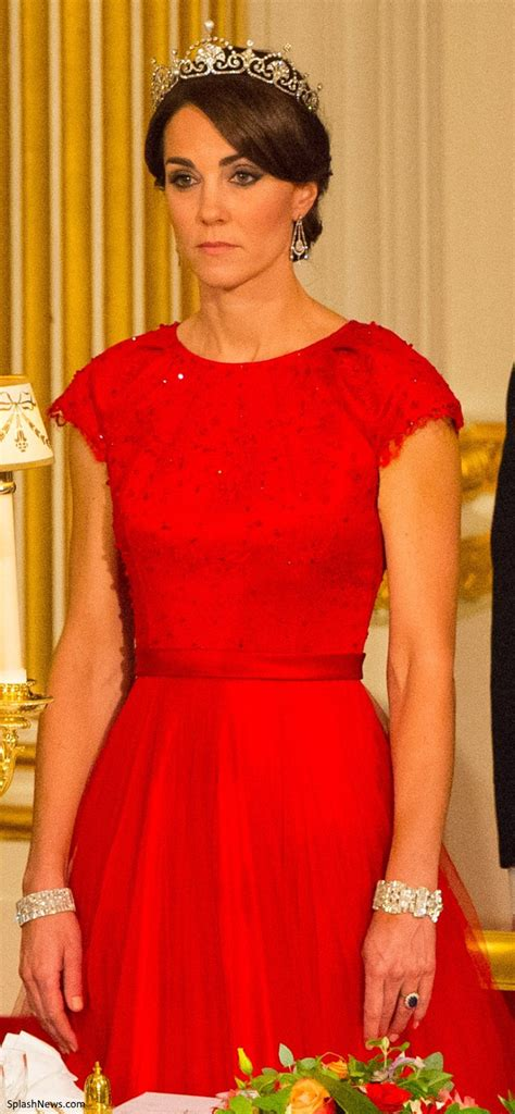 Duchess Kate: The Duchess Dazzles in Cambridge Lovers Knot