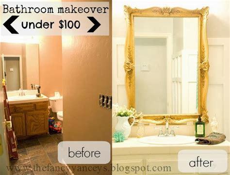 remodelaholic chic budget bathroom makeover for 100