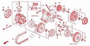 Air Conditioner  Compressor  Denso   U0026 39 93   For Honda Cars
