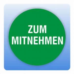 Salatbox Zum Mitnehmen : qualit tssicherungsaufkleber zum mitnehmen rund in gr n ~ A.2002-acura-tl-radio.info Haus und Dekorationen