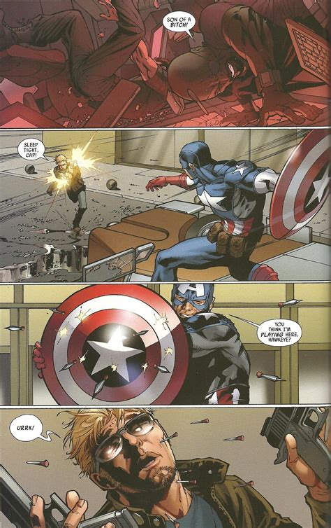 Captain America (Ultimate) vs. X-23 - Battles - Comic Vine