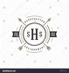 Retro Vintage Insignia Logotype Label Badge Stock Vector ...