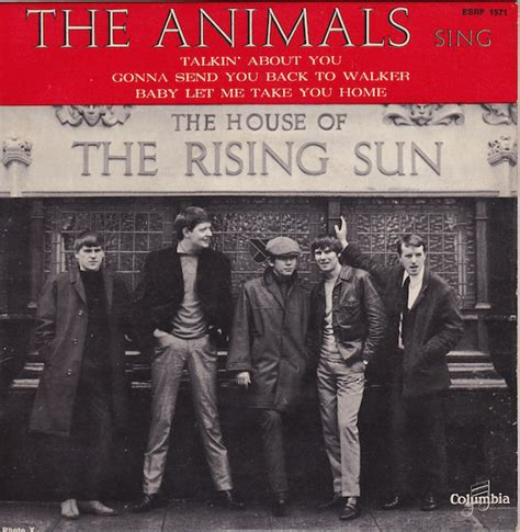 The Animals  The House Of The Rising Sun (vinyl) At Discogs